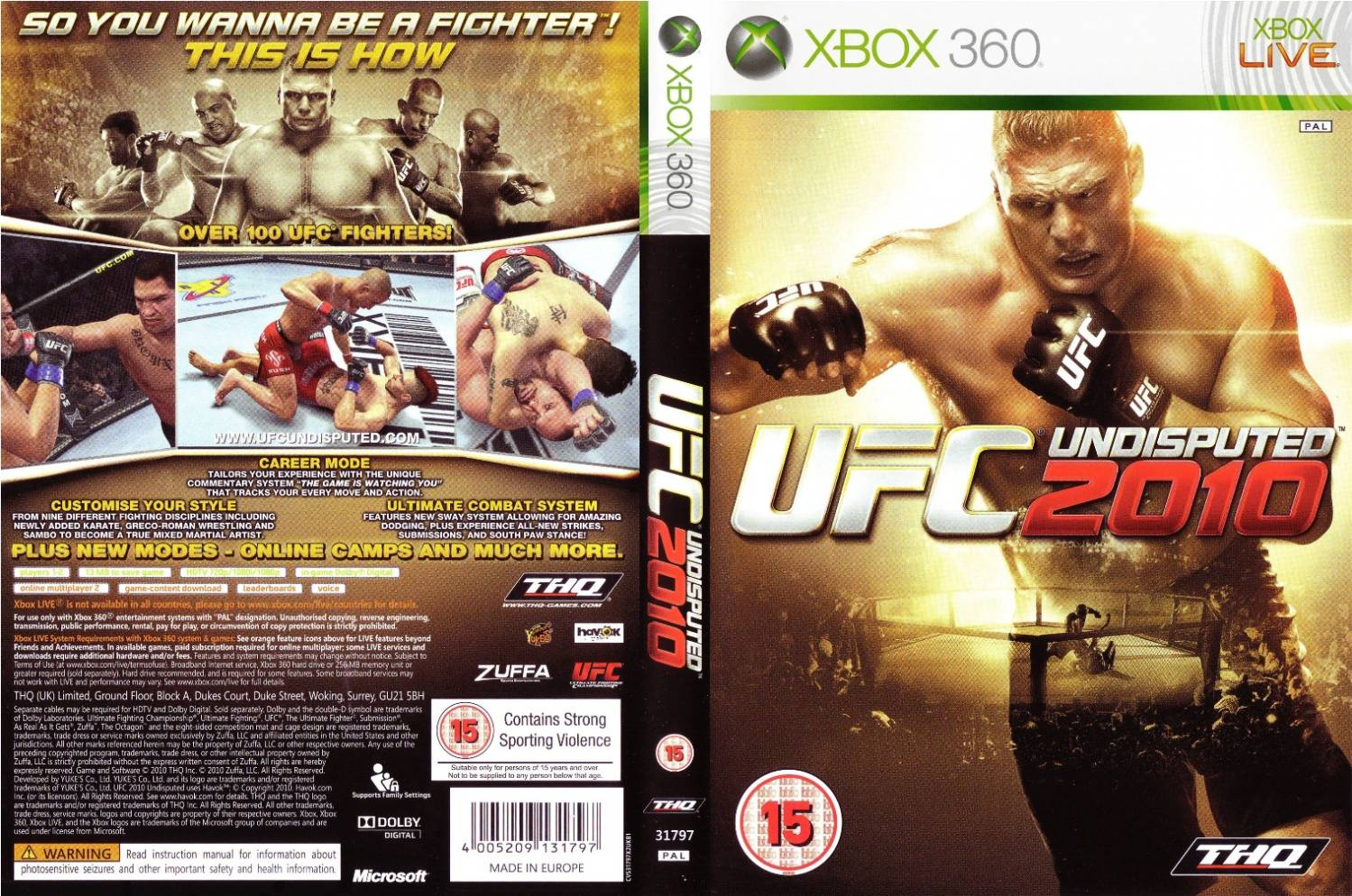 Amazon.com Product Description UFC Undisputed 3 is a mixed martial arts (MM